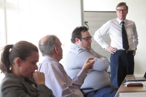 Discussions led by Prof. Meurman